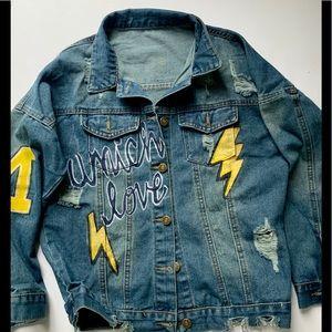 nextfour Jackets & Coats - Hand painted custom denim jackets! NEXTFOUR